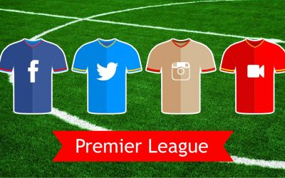 Which clubs are challenging for the Premier League of social media?