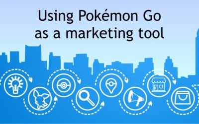 Can I use Pokémon Go to market my shop / museum?